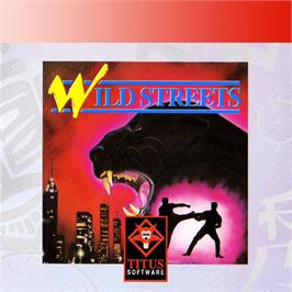 Box cover for Wild Streets on the Amstrad GX4000.