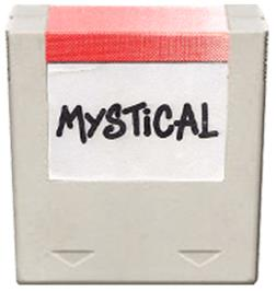 Cartridge artwork for Mystical on the Amstrad GX4000.