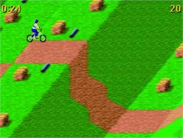 In game image of Epyx World Of Sports on the Amstrad GX4000.