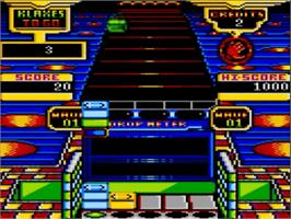 In game image of Klax on the Amstrad GX4000.