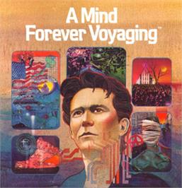 Box cover for A Mind Forever Voyaging on the Apple II.