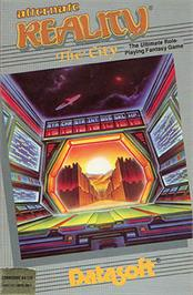 Box cover for Alternate Reality: The City on the Apple II.