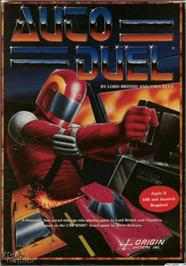 Box cover for Auto Duel on the Apple II.