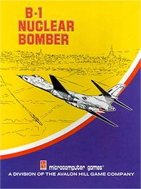 Box cover for B-1 Nuclear Bomber on the Apple II.