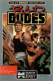 Box cover for Bad Dudes on the Apple II.
