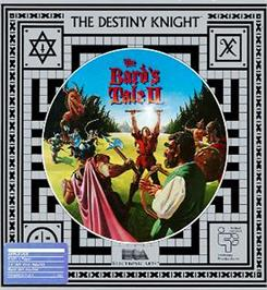 Box cover for Bard's Tale II: The Destiny Knight on the Apple II.