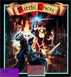 Box cover for Battle Chess on the Apple II.