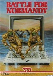 Box cover for Battle for Normandy on the Apple II.