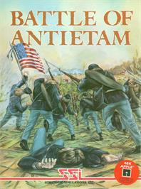 Box cover for Battle of Antietam on the Apple II.