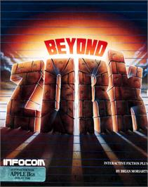 Box cover for Beyond Zork: The Coconut of Quendor on the Apple II.