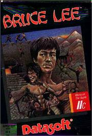 Box cover for Bruce Lee on the Apple II.