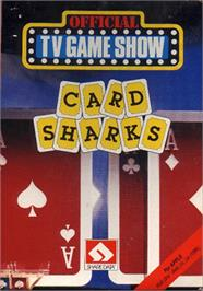 Box cover for Card Sharks on the Apple II.
