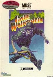 Box cover for Castle Wolfenstein on the Apple II.