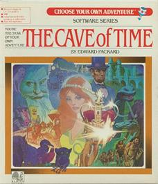 Box cover for Cave of Time on the Apple II.