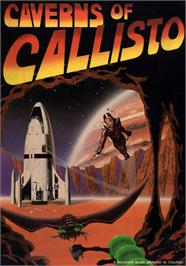 Box cover for Caverns of Callisto on the Apple II.