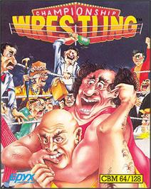 Box cover for Championship Wrestling on the Apple II.