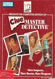 Box cover for Clue: Master Detective on the Apple II.