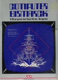 Box cover for Computer Bismarck on the Apple II.