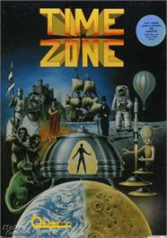Box cover for Crime Wave on the Apple II.