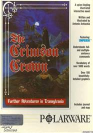 Box cover for Crimson Crown on the Apple II.
