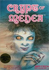 Box cover for Crypt of Medea on the Apple II.