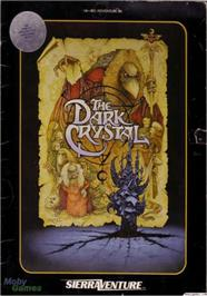 Box cover for Dark Crystal on the Apple II.