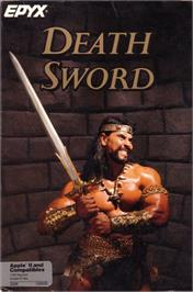 Box cover for Death Sword on the Apple II.