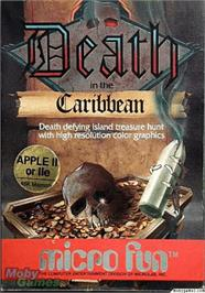 Box cover for Death in the Caribbean on the Apple II.