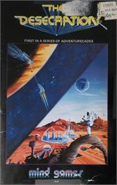 Box cover for Destination: Mars on the Apple II.