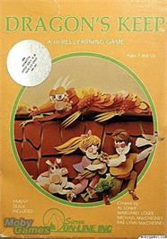 Box cover for Dragon's Keep on the Apple II.