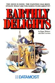 Box cover for Earthly Delights on the Apple II.