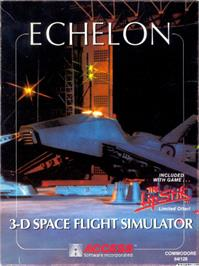 Box cover for Echelon on the Apple II.