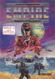 Box cover for Empire: Wargame of the Century on the Apple II.
