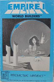 Box cover for Empire I: World Builders on the Apple II.
