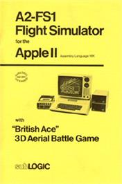 Box cover for Flight Simulator on the Apple II.