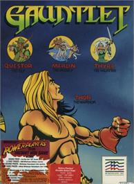 Box cover for Gauntlet on the Apple II.
