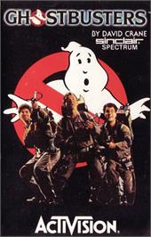 Box cover for Ghostbusters on the Apple II.