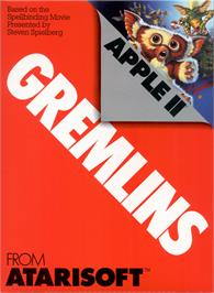Box cover for Gremlins on the Apple II.