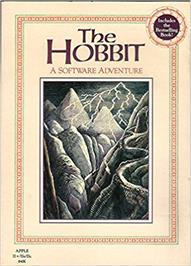 Box cover for Hobbit on the Apple II.