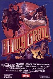 Box cover for Holy Grail on the Apple II.