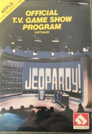 Box cover for Jeopardy on the Apple II.