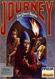 Box cover for Journey: The Quest Begins on the Apple II.