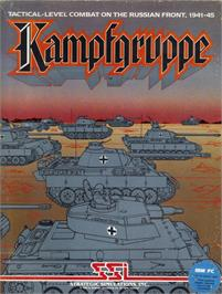 Box cover for Kampfgruppe on the Apple II.