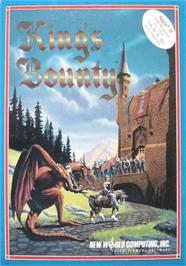 Box cover for King's Bounty on the Apple II.