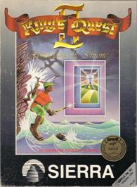 Box cover for King's Quest II: Romancing the Throne on the Apple II.
