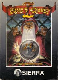 Box cover for King's Quest III: To Heir is Human on the Apple II.