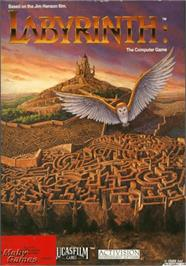 Box cover for Labyrinth on the Apple II.