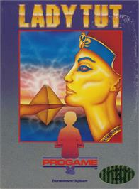 Box cover for Lady Tut on the Apple II.