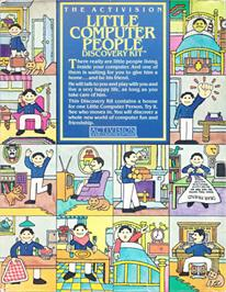 Box cover for Little Computer People on the Apple II.