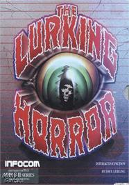Box cover for Lurking Horror on the Apple II.